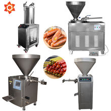 Meat extruders Extruder hungarian Hot dog Sausage Making Manual/ Horizontal Sausage stuffer /automatic filling filler machine