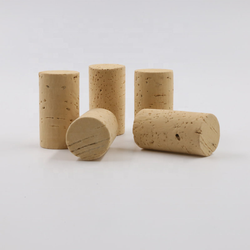 Printing logo cork food silicone wine stopper Grade 1st AA Natural Cork stopper