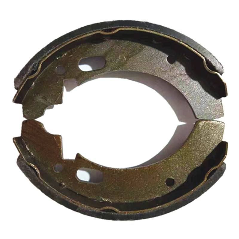 Motorcycle endurance parts brake shoes lining for BAJAJ 3w