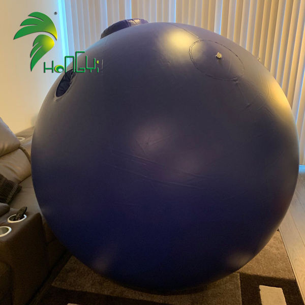 Air Inflation Inflatable Blueberry Ball Suits , Inflatable Bubble Ball Costume For Party