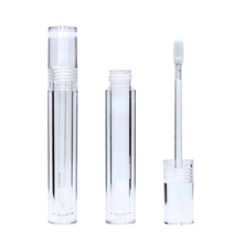 Wholesale Round Transparent Lipgloss Tube Packaging 7.8ml Empty Lipgloss Tube