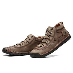 Men's Shoes British Wind Outdoor Leisure Shoes with Imitation Leather 9926