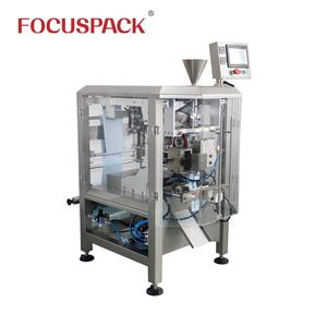High speed automatic vertical weighing liquid packing filling sealing machine with piston pump