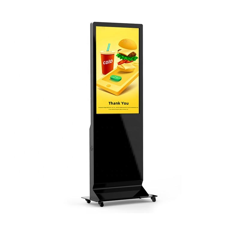 43 inch floor standing touch screen digital signage media player display kKiosk advertising machine