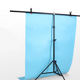 Adjustable Photography Support Stand + White PVC Backdrop Background + 2 Clips Set High-strength aluminum detachable