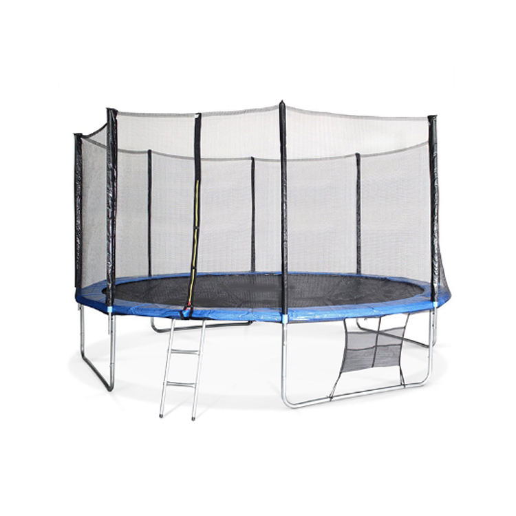 Sundow Jumping Bed Trampoline Park With Safety Net 12Ft Bungee Big Kids Trampoline