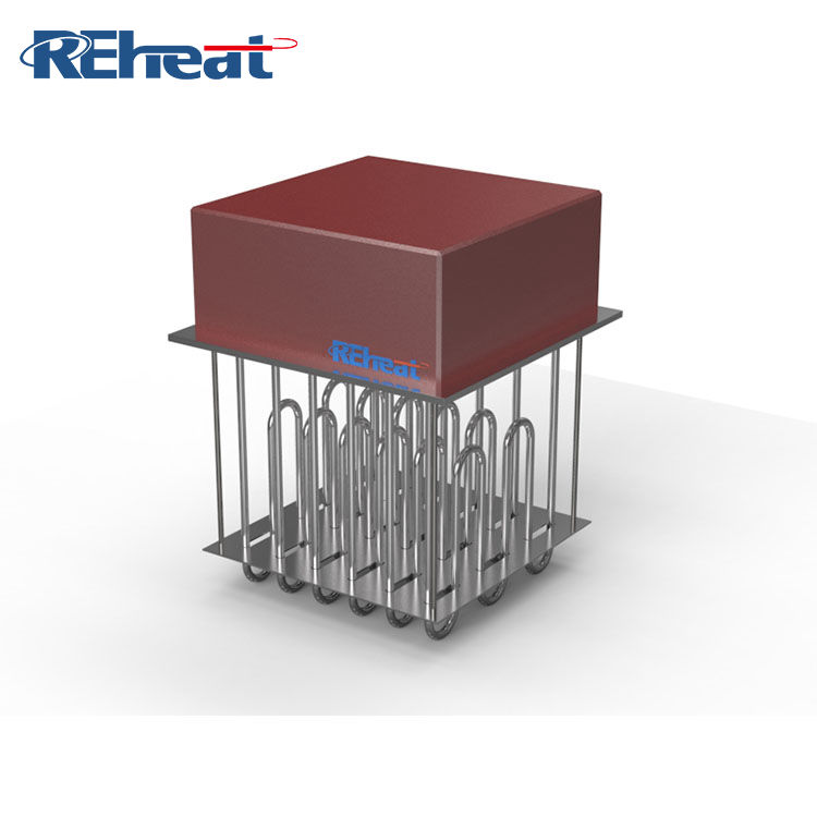 Customized industrial 18kw electric air u type band tubular element heater
