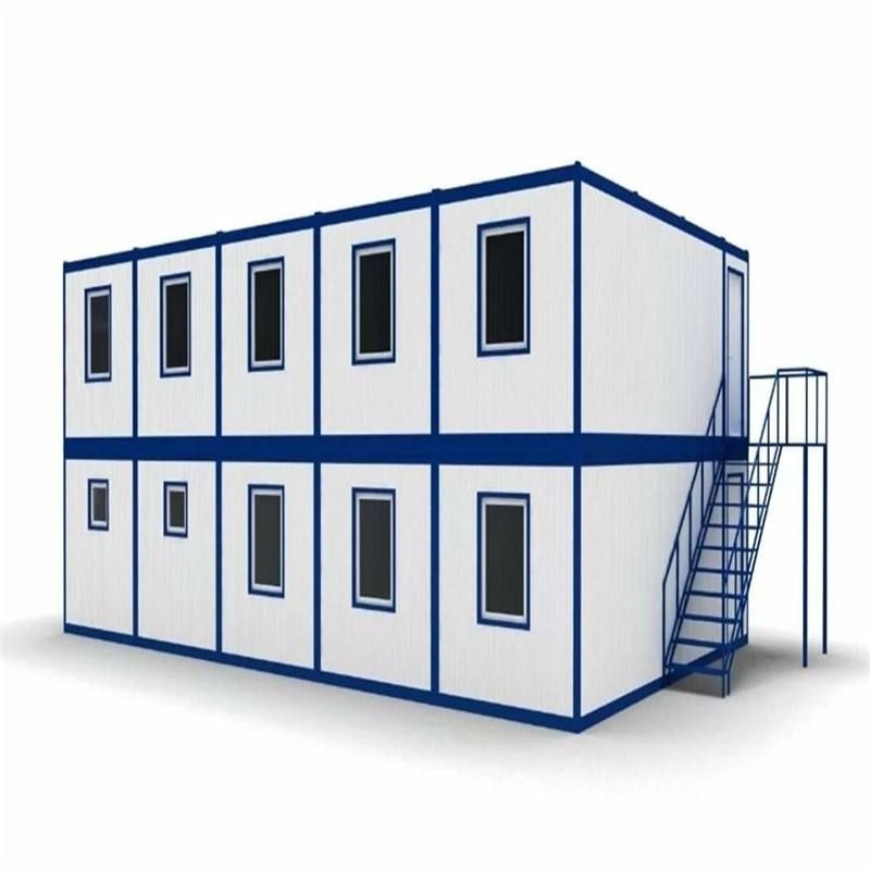 Safe and High Durability 20ft 40ft Quonset Pre Fab Container House for Hotel