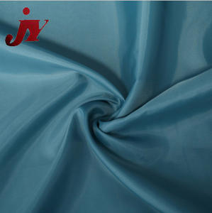 fabric cloth manufacturer Best Selling cut pieces 100 polyester taffeta lining upholstery fabric