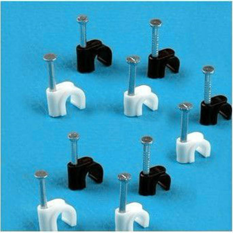 Chinese Supplier Circle Nail Clips with Steel Nail