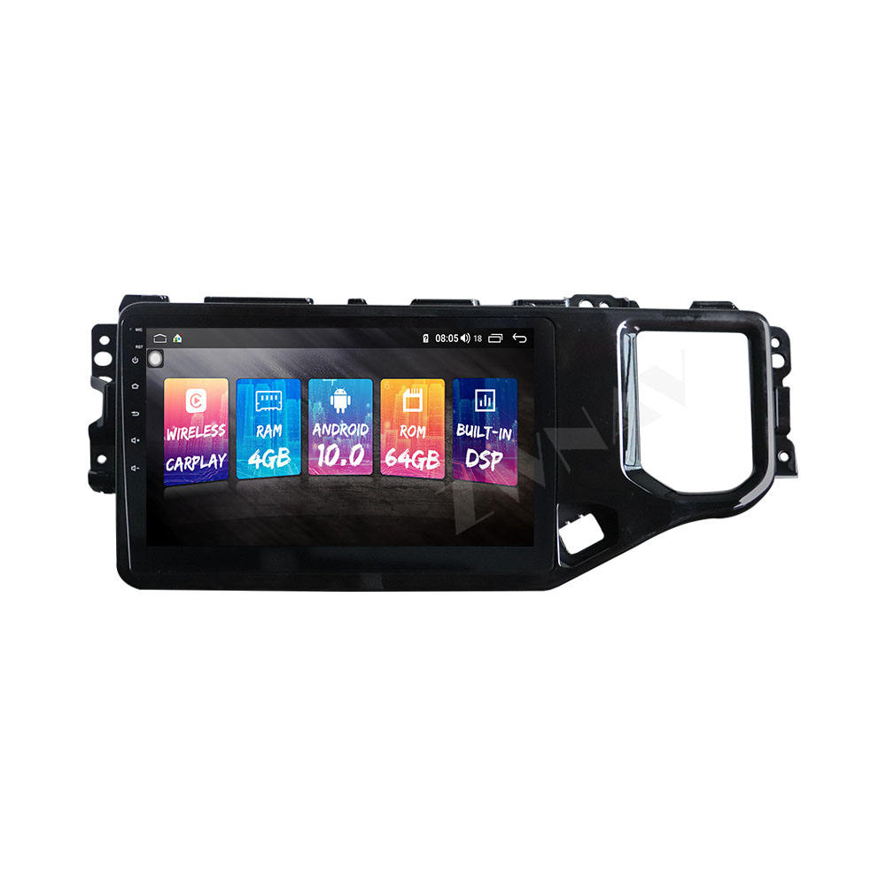 Carplay untuk Chery Tiggo 4 2019 Android 10.0 Car Radio GPS Navigasi Auto Stereo Kepala Unit Multimedia Player Radio Tape