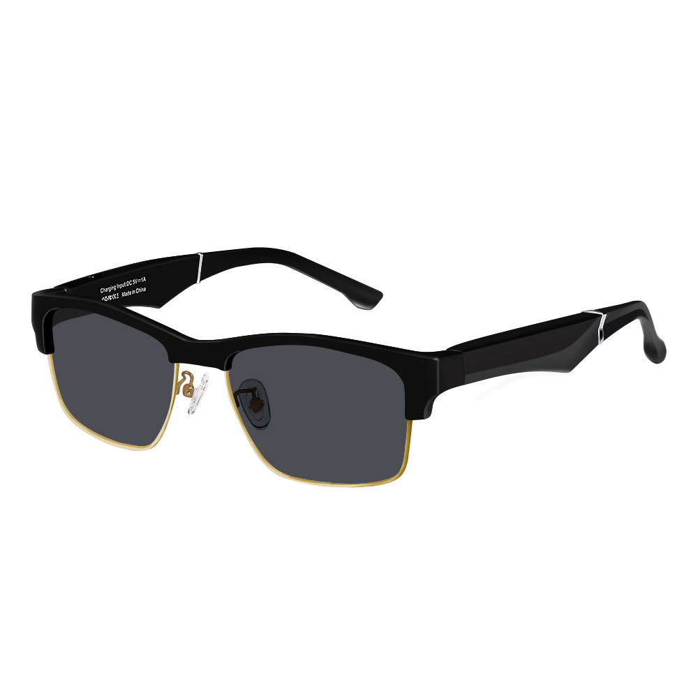 Fashion Style Smart Wireless Bluetooth Audio Sunglasses Polarized Glasses Driving Sun Glasses With Logo