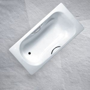 Bathtub Outlet Steel Alcove Enamel Bravat Bathtub For Adults