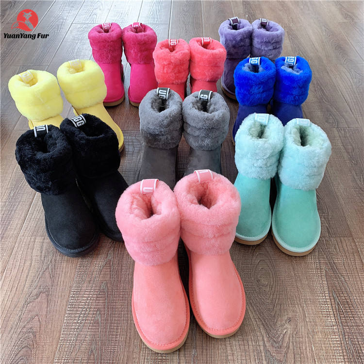 Latest desirable winter fur boots uggh boots for women