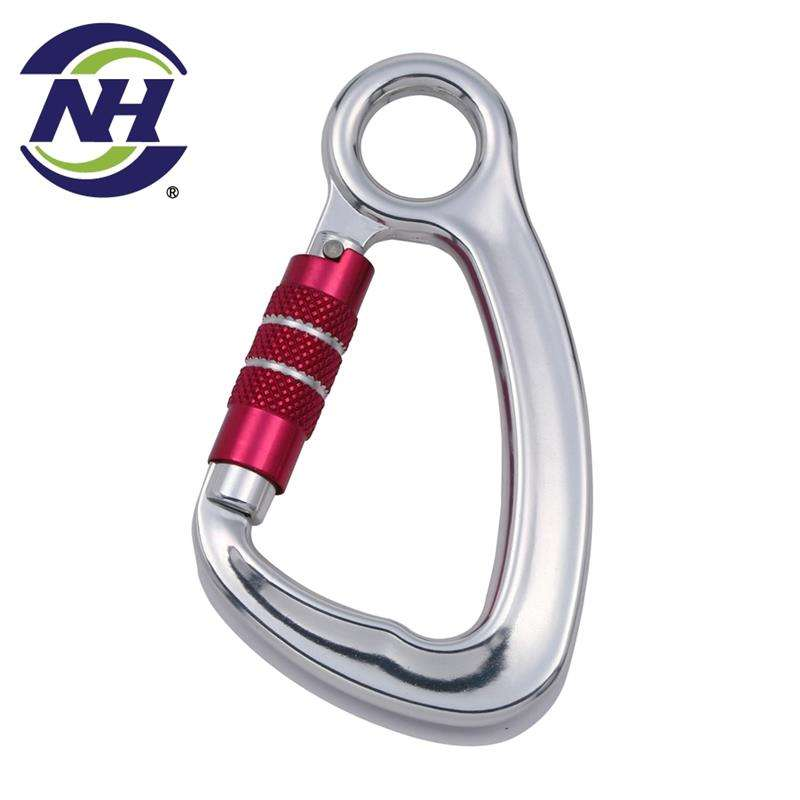 <span class=keywords><strong>CE</strong></span> Aluminum rock mountain climbing carabiner