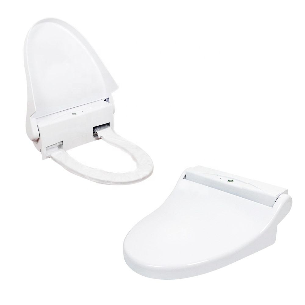 Paper Cover Intelligent Toilet Seat Cover Water Jet Automatic China Wooden Flushable Toilet Seat Cover