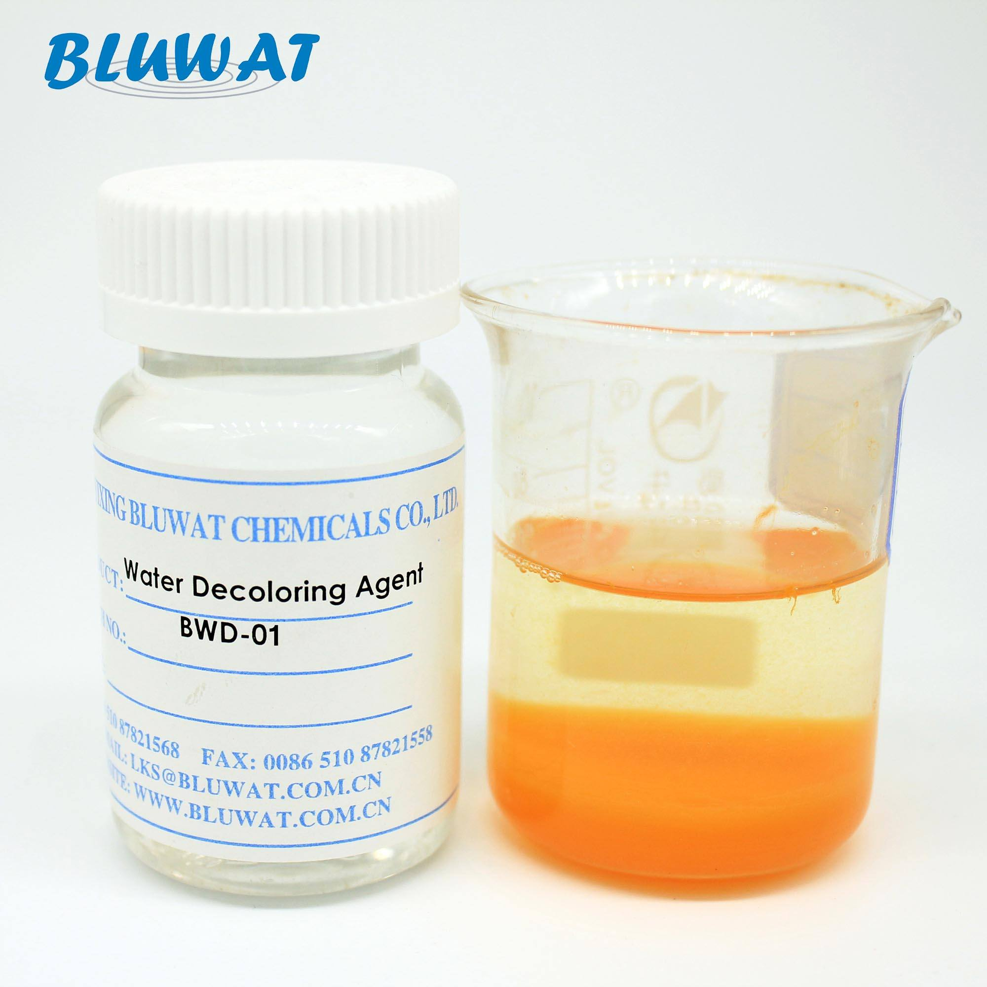 BWD-01 De Color Agent Liquid Polymer Resin Water Treatment Chemicals Paper Chemicals Surfactants