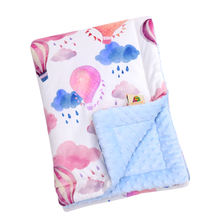 Baby Bedspreads Cotton Patchwork Swaddle Quilt  Batting