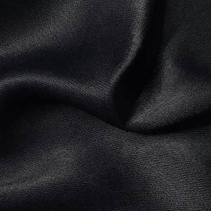 Harvest stock item rayon crepe satin solid fabric for shirt and dress