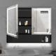 Modern Waterproof Vanity LED Wall Hanging Mirror Cabinet Smart Beautiful Bathroom Cabinet
