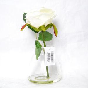 Artificial Flower In Glass Vase Artificial Flower In Glass Vase Suppliers And Manufacturers At Alibaba Com