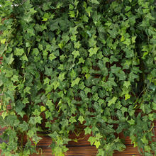 Indoor Outdoor Decor 190cm Length Artificial Ivy Leaves 12 Pack Faux Leaf Hanging Plants Fake Foliage Ivy Vines