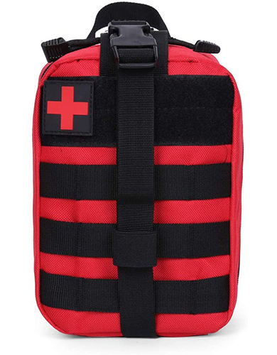 High quality custom small molle army survival emergency waterproof tactical military empty first aid pack