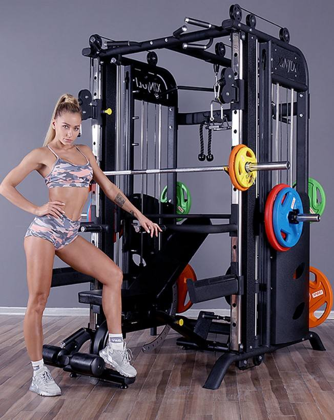 multi-functional gym equipment crossover cable smith machine