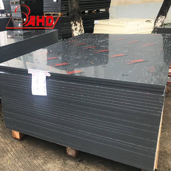 Black Thick Plastic Uhmw PE Sheet Uhmwpe Board/PE Panel/HDPE Pad Plate Panel