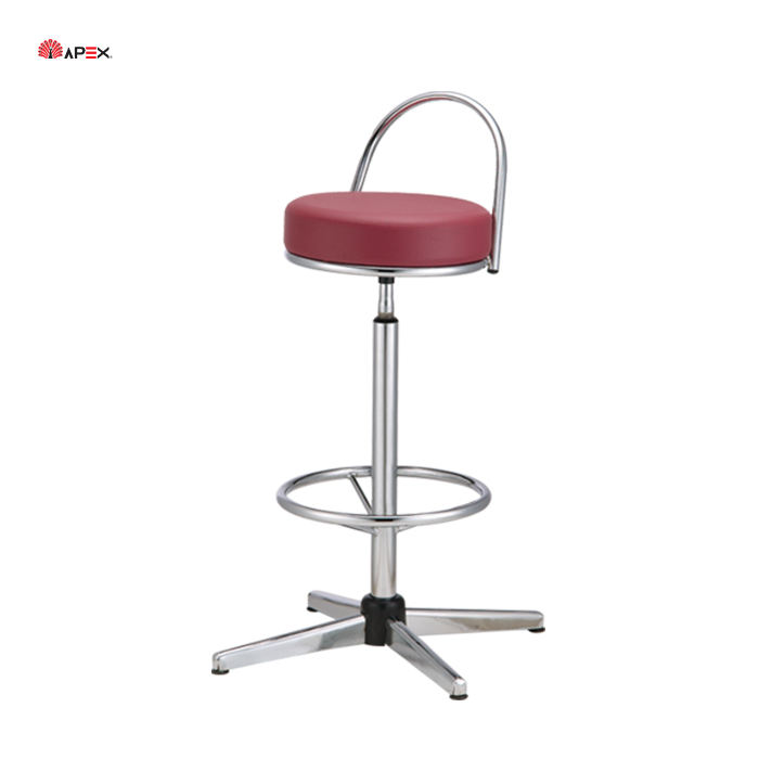 Apex Modern Fabric Adjustable Barstool Bar High Chair Wholesale Price Bar Stools
