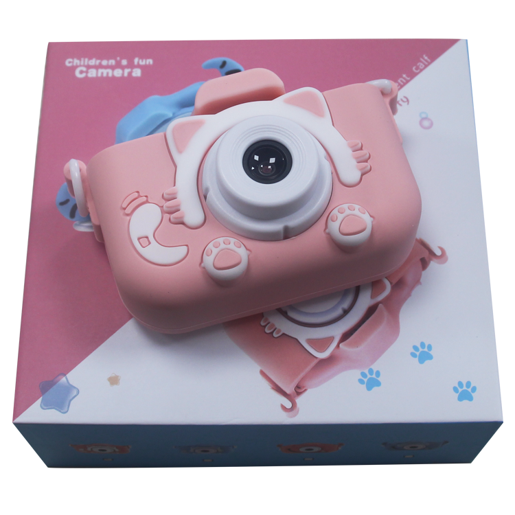 2020 Hot sell New Arrival Gift Camera Children Digital Camera Kids Video Camera with Colorful Cute Design