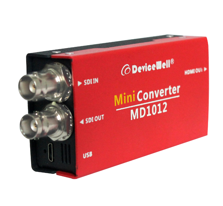 DeviceWell Nieuwe Product MD1012 1080p 1080i hd sdi converter