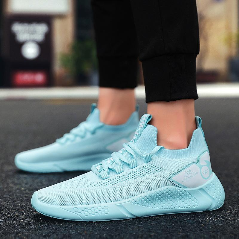 Wholesale Good Price EVA Bottom Custom Mens Breathable Casual Sports Shoes