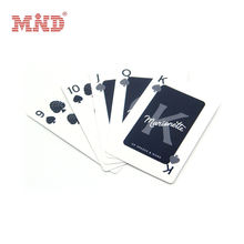 Competitive custom 3d printing plastic playing card
