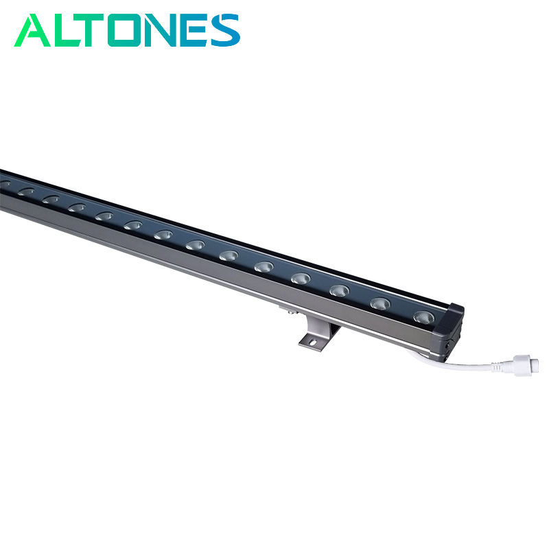ALTONES 18w outdoor lineaire led wall washer licht gevel landschap project verlichting dmx controller rgb ip65