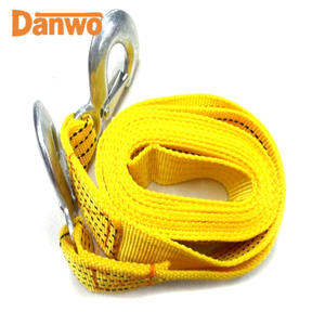 heavy duty Polyester 2 inch quality elastic stretch heavy duty tow rope