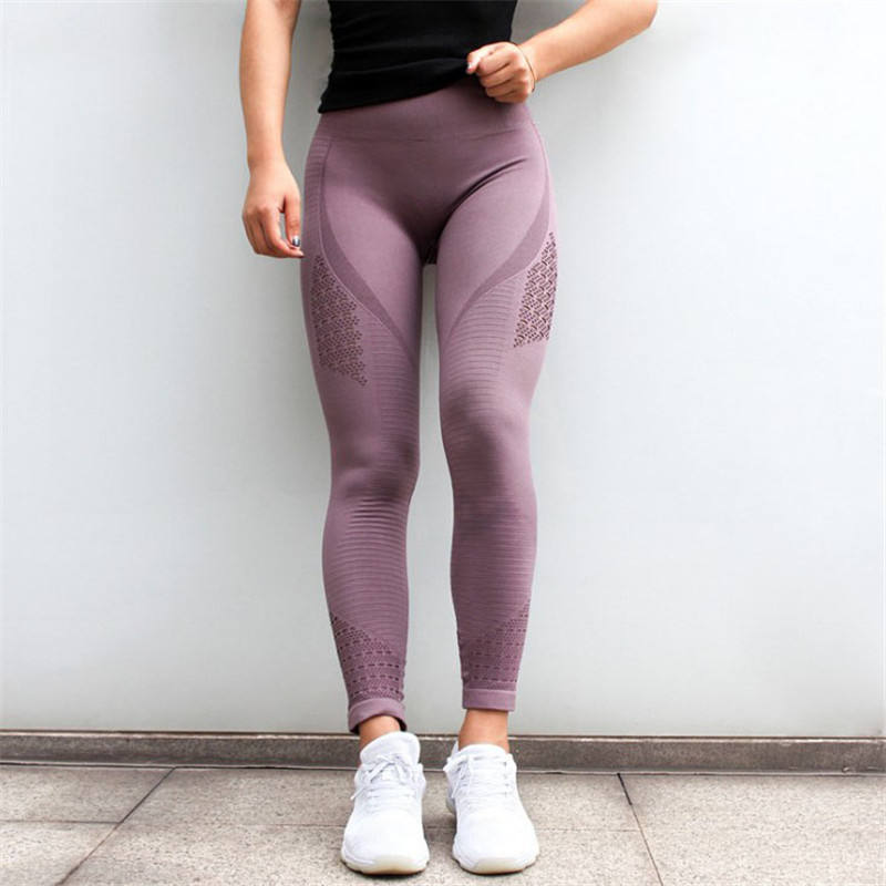 Wholesale High Waisted Workout Yoga Seamless Women Push Up Fitness custom Leggings