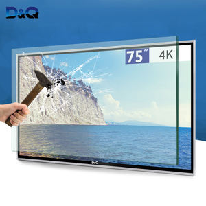 China DQ manufacture-4K UHD FHD Explosion proof 4k smart led televisor,not curved tv,big size tv screen 75 inch tv