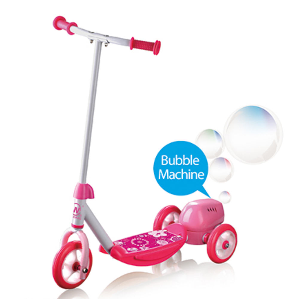 Great Price Children's Toy 3 Wheels Kids Bubble Scooter electric scooter with bubble function for sale