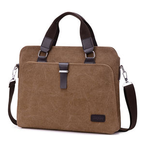 wholesale high quality tote blank wax canvas shoulder messenger bag men