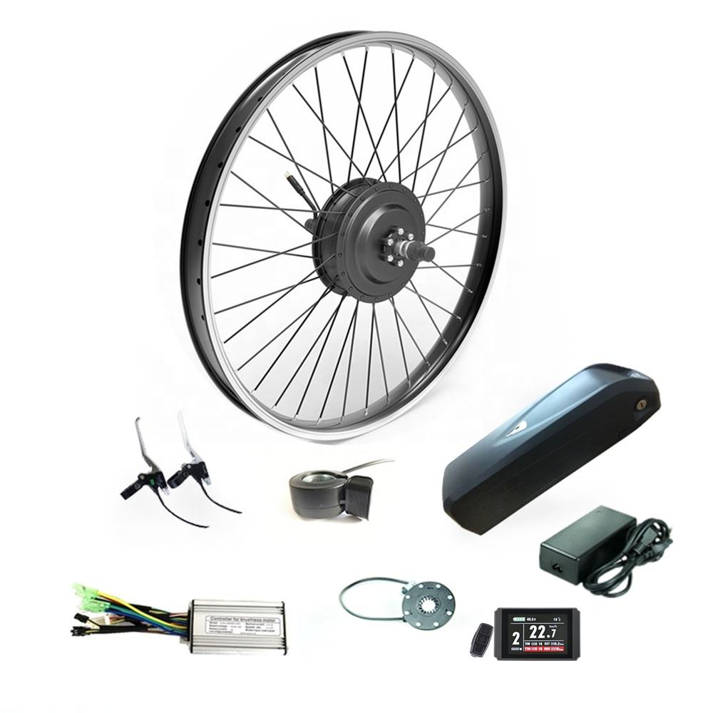 Hot selling 48v 500w electric bike conversion kit e bicycle