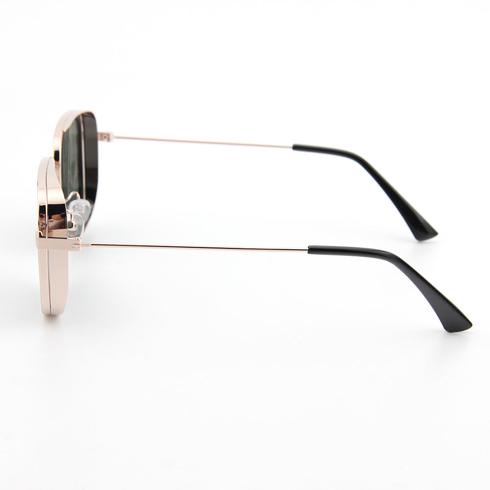 Retro Square Metal Custom Polarized Fashion India Kabir Singh Sunglasses