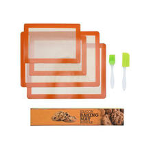 Gold supplier china non-stick silicone toaster baking mat sheet liner