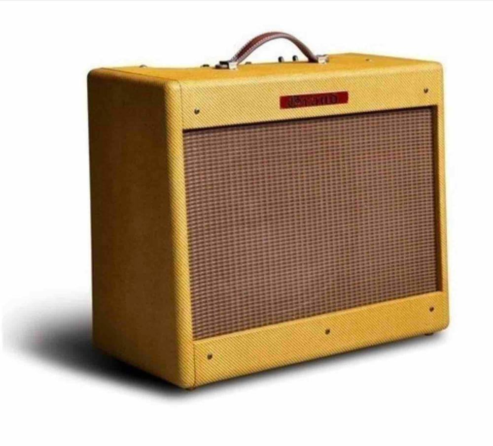 Tweed Deluxe 5E3 Vintage Point to Point Guitar Tube Amplifier 20W
