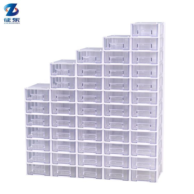 New design storage electric small clear plastic organizer box with dividers