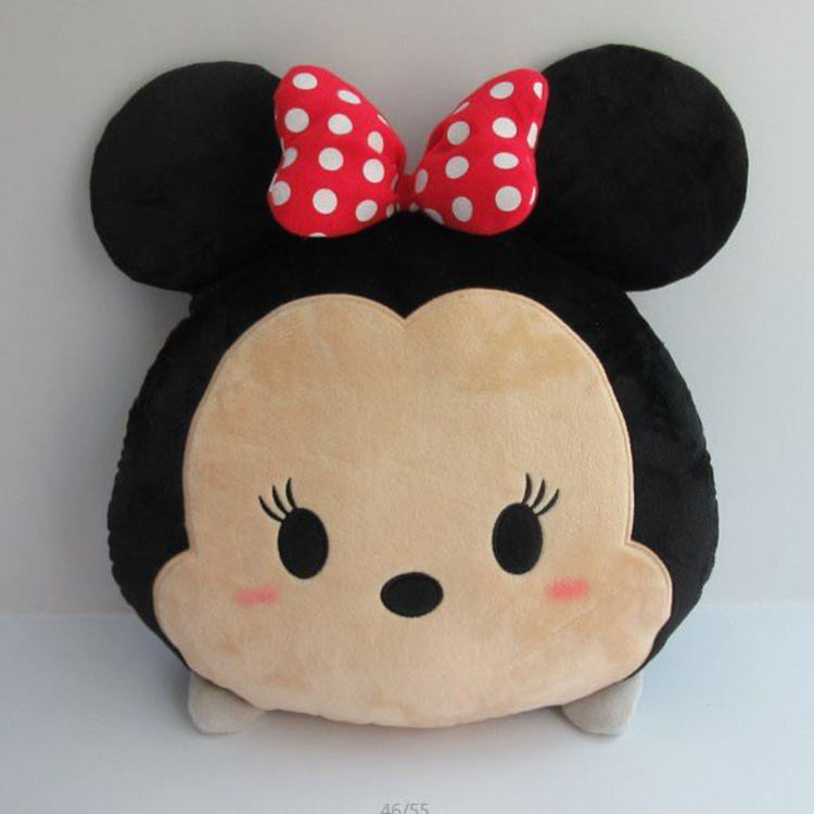 [ Baby Pillow ] Wholesale Colorful Baby Plush Cushion Toy Mickey Mouse Pillow