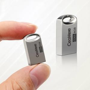 Ceamere CM-CD05 Bulk Mini Metal USB 2.0 Pen Drives 4GB Memory Stick 16GB 32GB 128GB 16GB Custom 8GB Pendrive USB Flash Drive