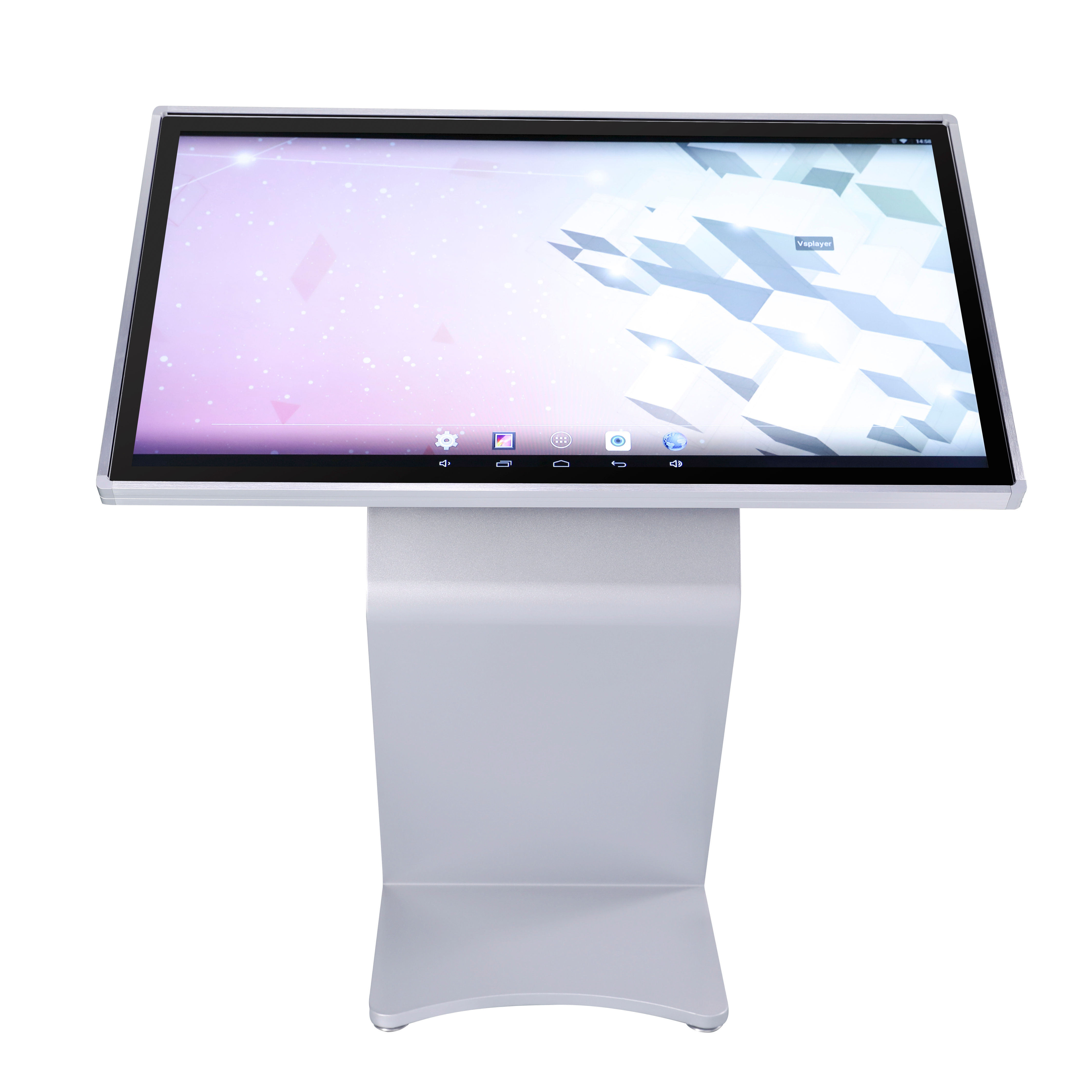 55 zoll android alle-in-one Touch Media Player stand digital signage