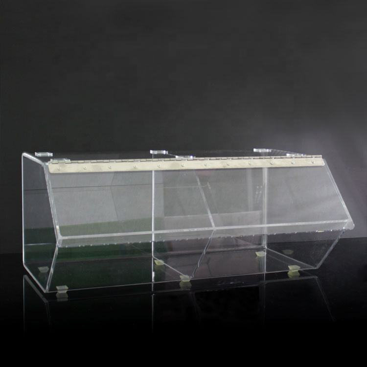 Apex wholesale clear acrylic candy display rack box