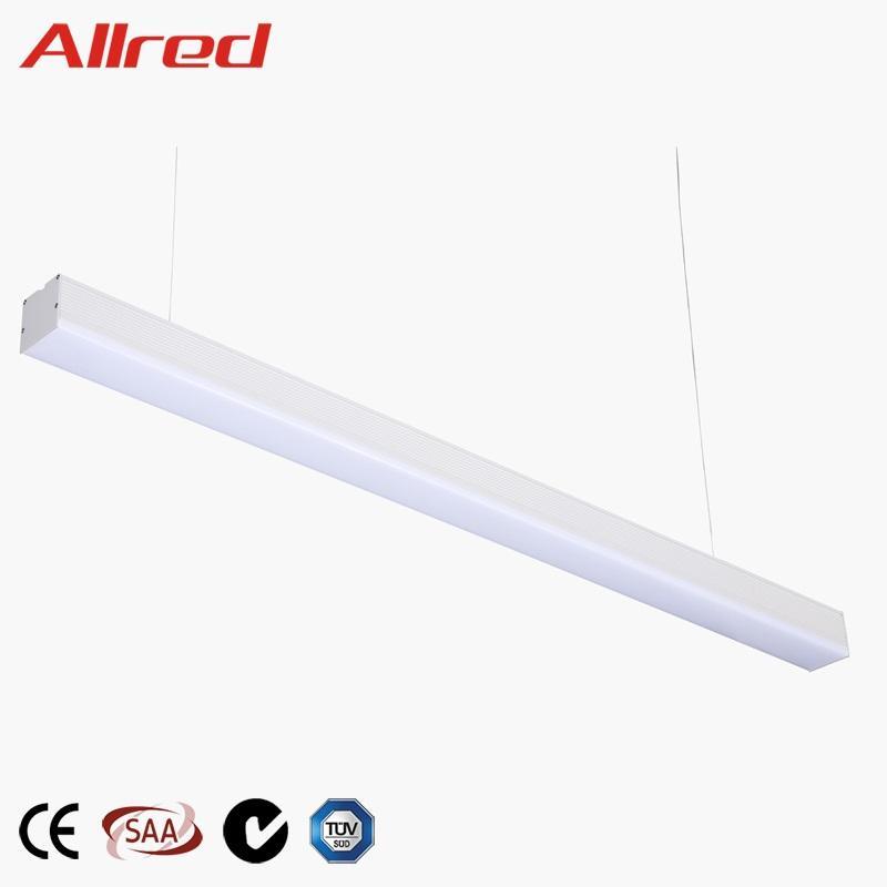 2019 neue produkte 1200mm großhandel jiangmen moderne indoor induktion projekt-licht lampe led linear wonder <span class=keywords><strong>beleuchtung</strong></span>
